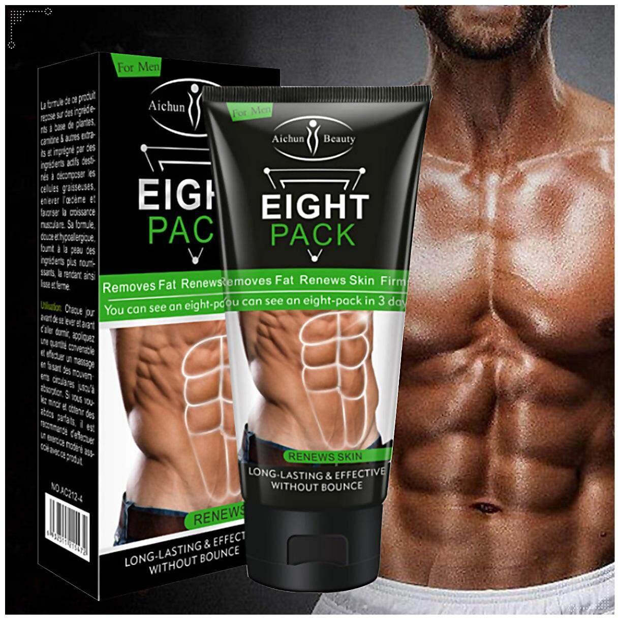 Aichun Beauty Eight Pack For Men Strong Waist Manly Torso Smooth Lines Press Fit By Sigma.