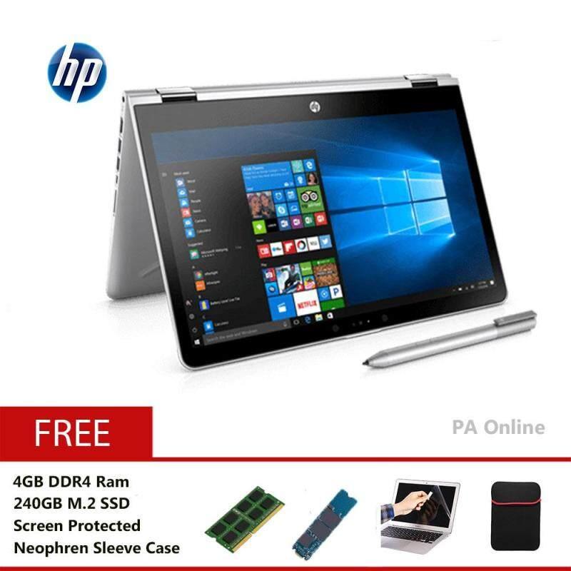 HP Pavilion X360-14-cd0036TX -240GB -Intel Core i5-8250U/8GB Ram/240GB+1TB SSHD/2GB Nvidia MX130/14 FHD Touch/Win 10/2 Years Malaysia