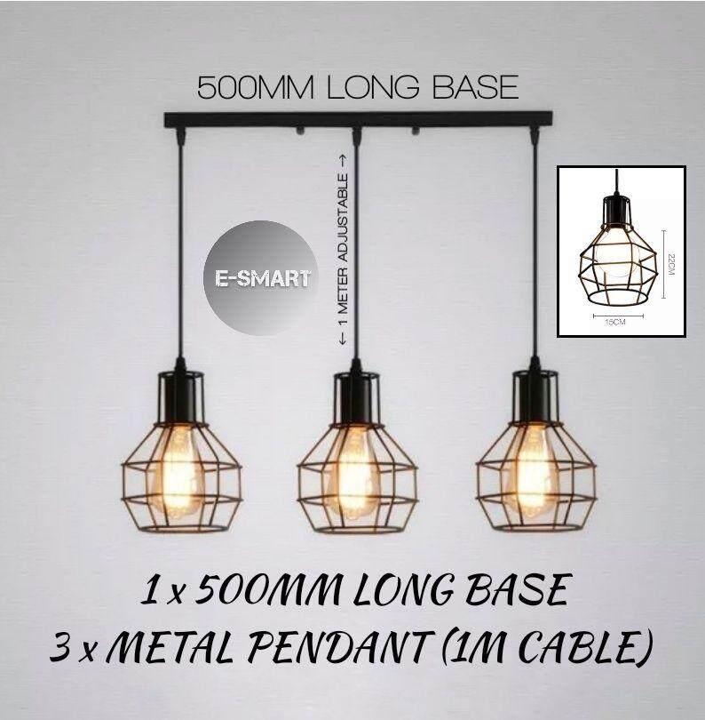 E Smart Set Of 3 Designer Best Er Loft Pendant Light Ceiling