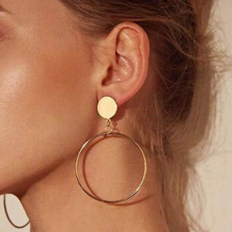 5063d12f5e845 BZY High Quality Circle Round Earring Hyperbole Personality Large Hoop  Earring for Women Fashion Jewelry