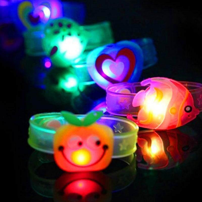 Hot Bracelet LED Night Light Colorful Personality Kids Children Wristband Toy Malaysia
