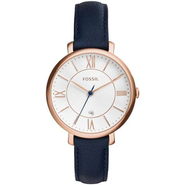 Fossil Womens Jacqueline Silver Dial Rose Gold tone Watch ES3843 Malaysia
