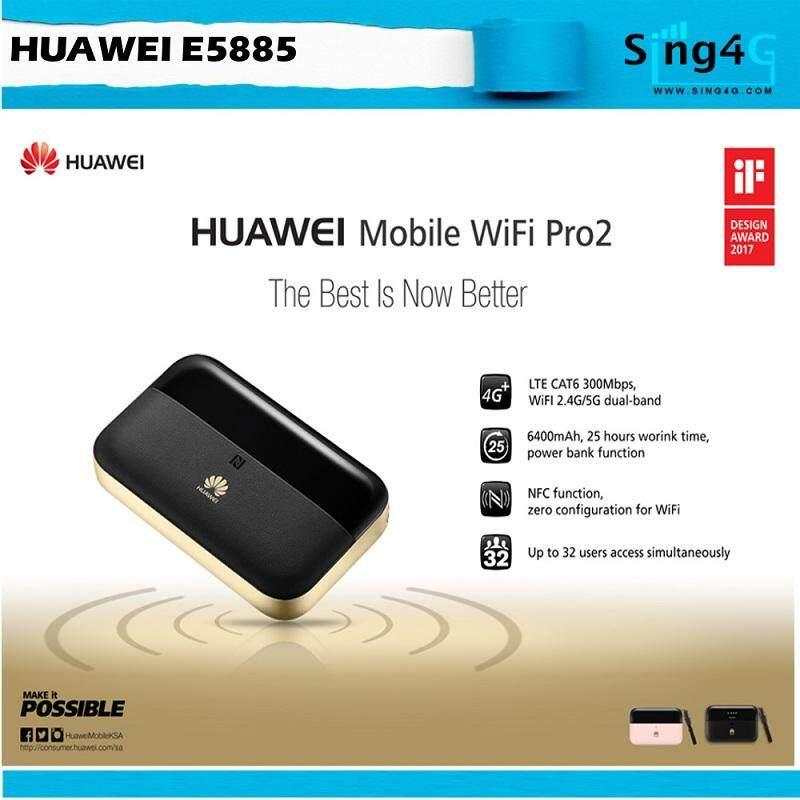 Huawei E5885 Mobile WiFi Pro 2 4G 300Mbps Direct Sim 25hr