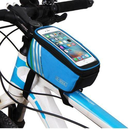 Ecosport B-Soul Bicycle Mobile Phone Pouch 5.7 Inch Touch Screen Top Frame Tube Storage Bag Cycling Bag By Florasun.