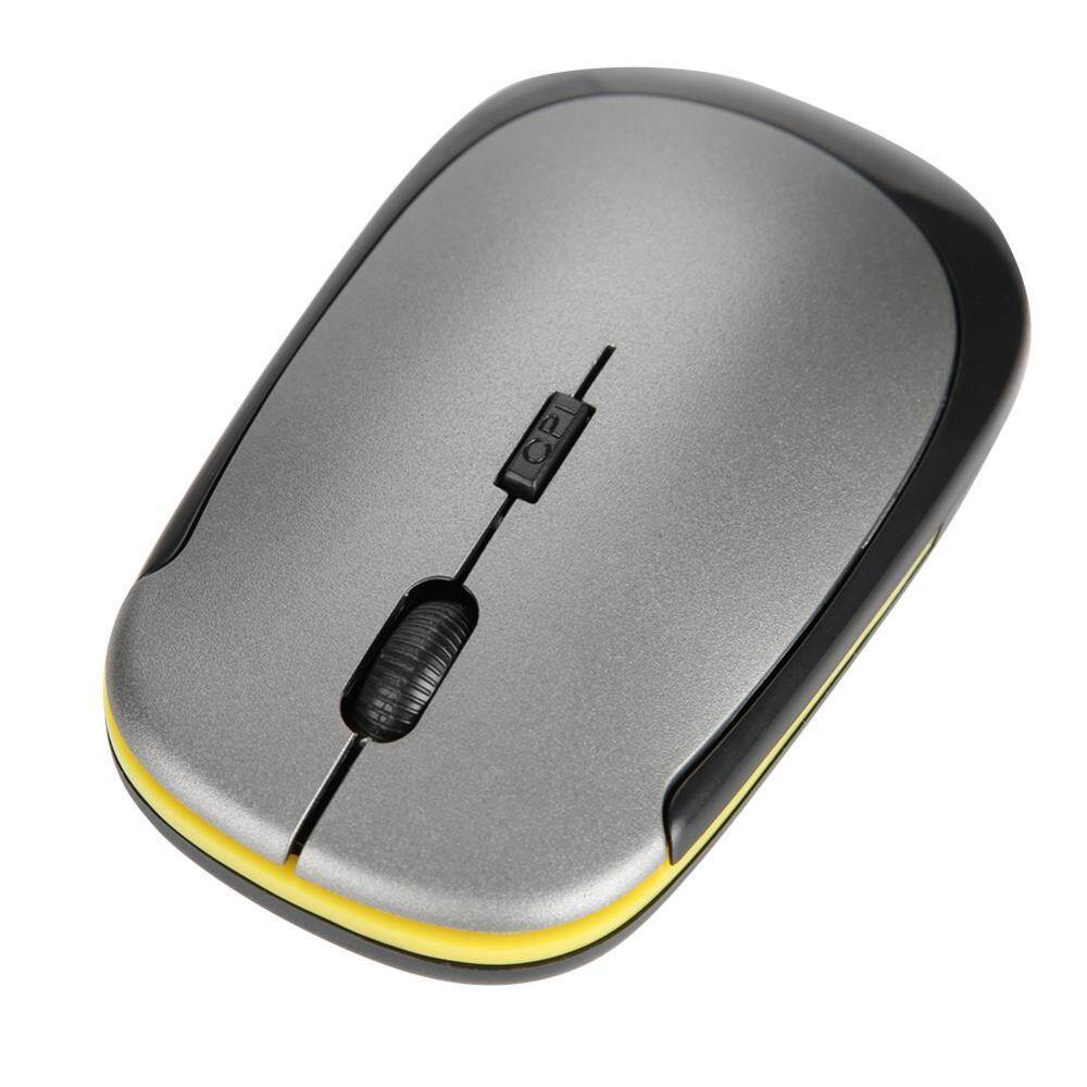 Justgogo Mini USB 2.4G Ultra-thin Wireless Optical Mouse 1200dpi Long Service Life Malaysia