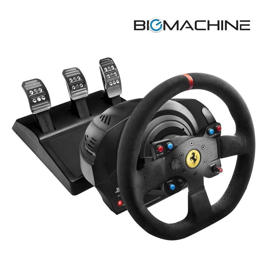 Thrustmaster Buy At Best Price In Malaysia Www Tss Sequential Shifter Handbreak Sparco T300 Ferrari Alcantara Edition Racing Wheel 4160654