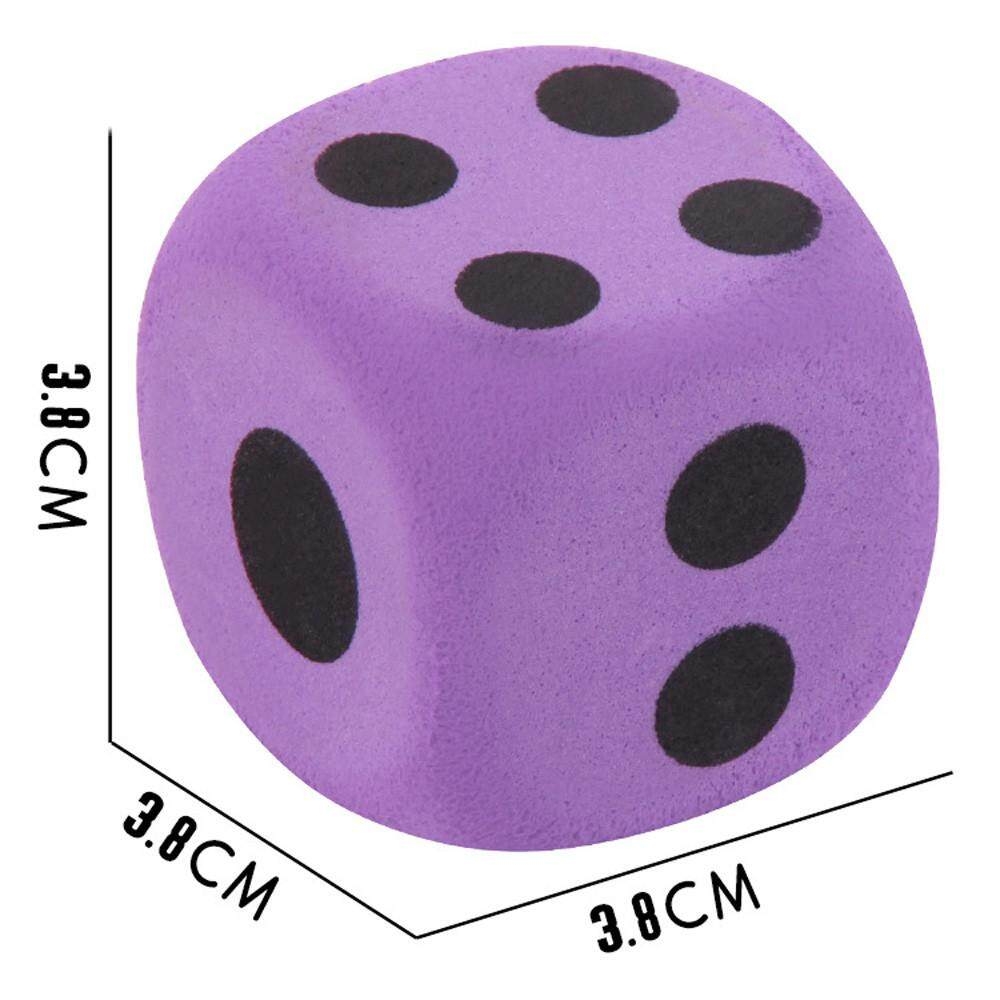 Specialty Giant Eva Foam Playing Dice Block Party Toy Game Prize For Children By Denetytres.