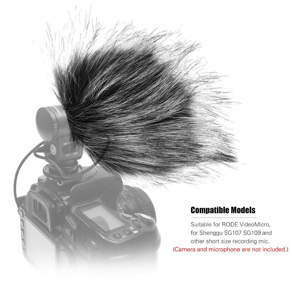 Buy Sell Cheapest Original Rode Videomicro Best Quality Product Mic Video Micro 65cm115cm Grey Microphone Furry Windscreen Fur Windshield Wind Muff For
