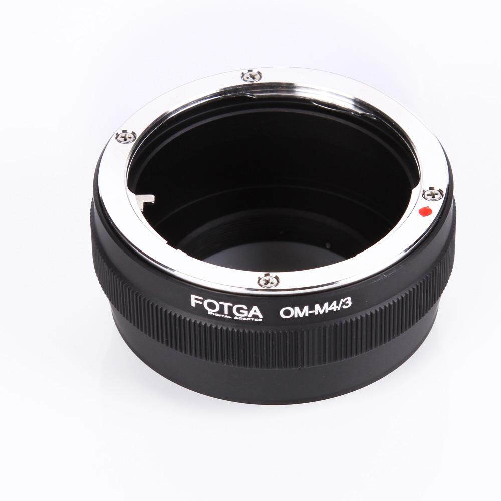 Fotga Adapter Ring Mount For Olympus Om Classic Manual Lens To Micro M4/3 Mount Camera Olympus Panasonic Dslr Camera By Tdigitals.