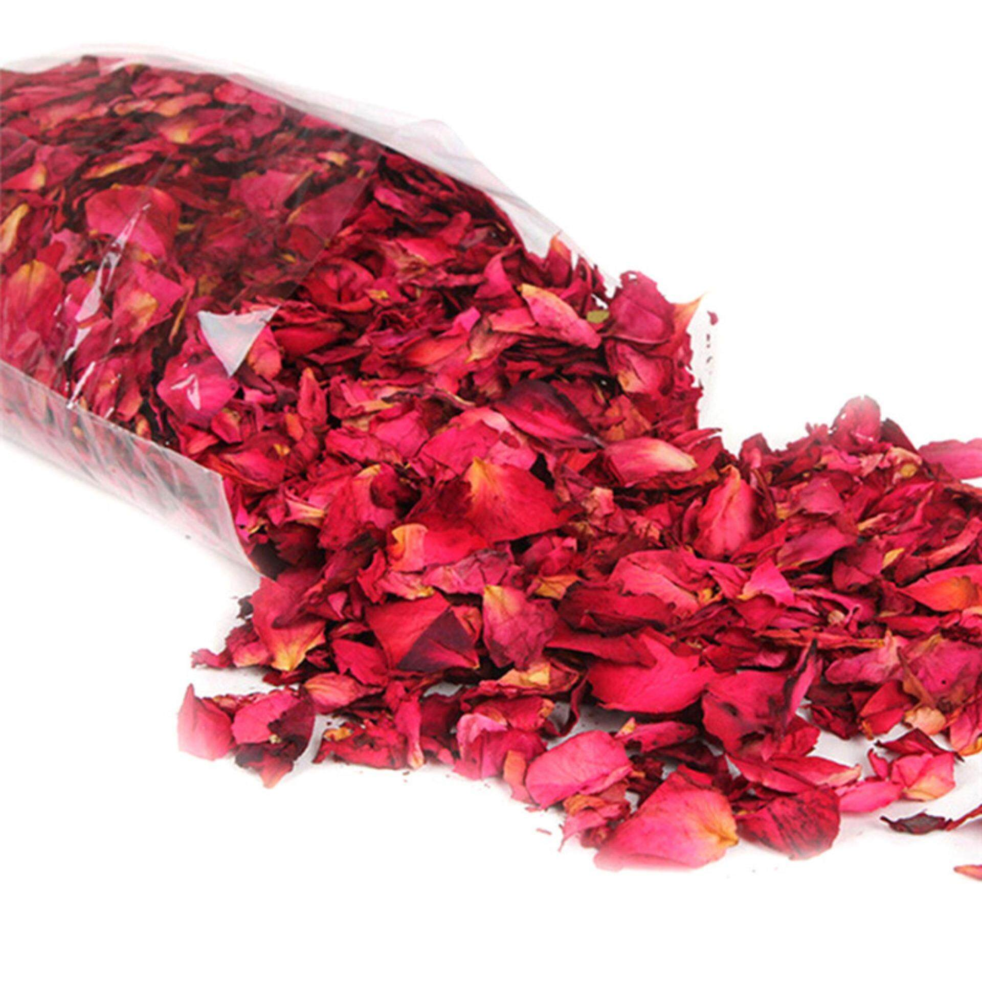 50g Dried Rose Petals Natural Dry Flower Petal Spa Whitening Shower Bath Tool