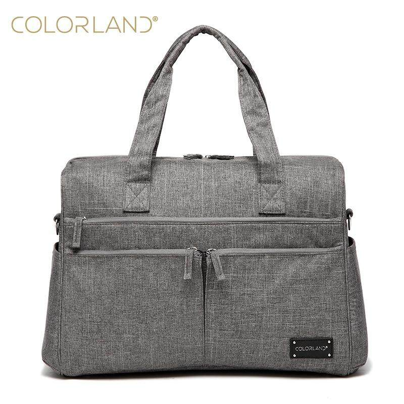 8a10738340 Colorland Diaper Bag Multi-Function Waterproof Travel Backpack Baby Nappy  Bag for Baby Mom Dad