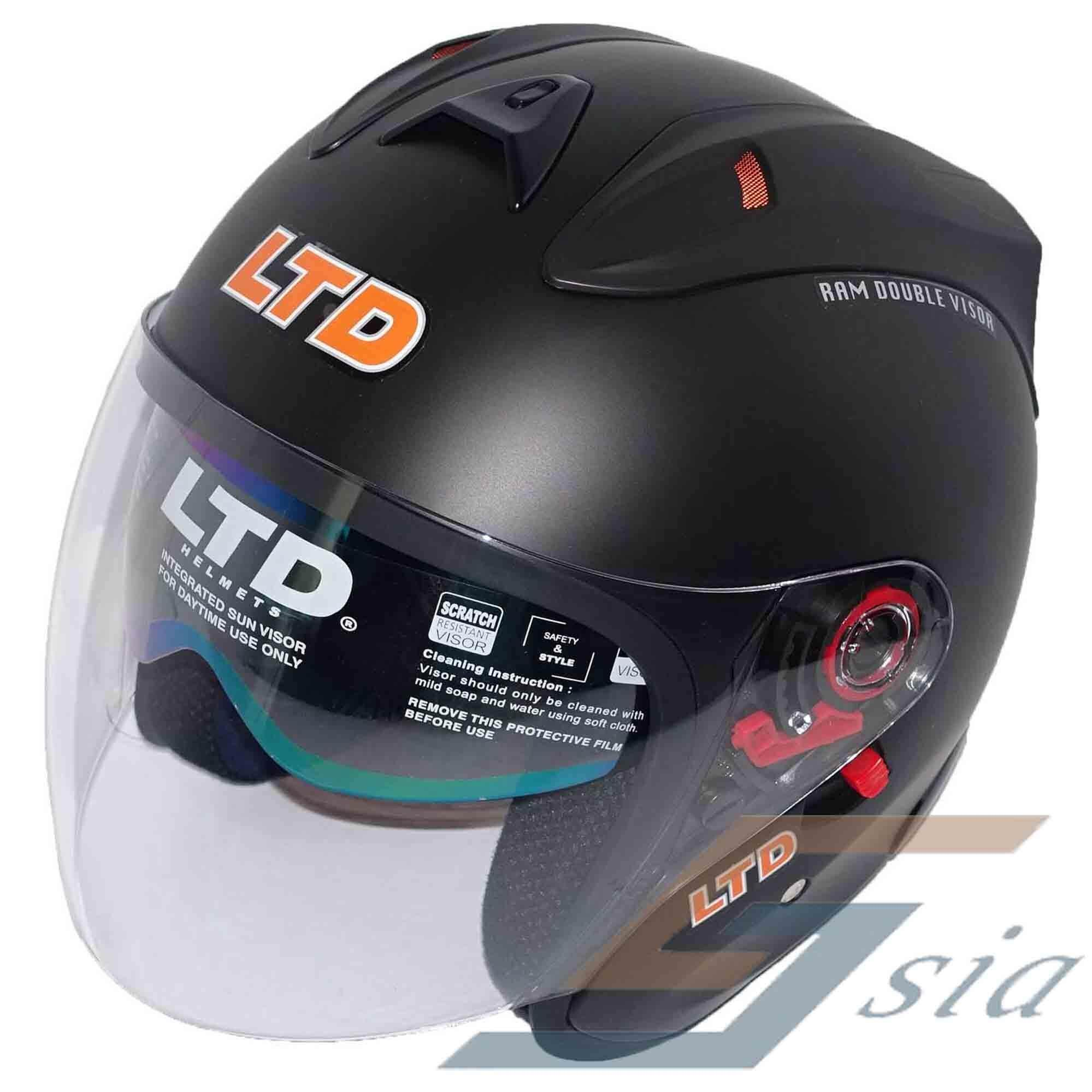 Helmet Buy At Best Price In Malaysia Flat Visor Kyt Vendetta 2 Ori Iridium Silver Ltd Infinity Ram Double Matt Black