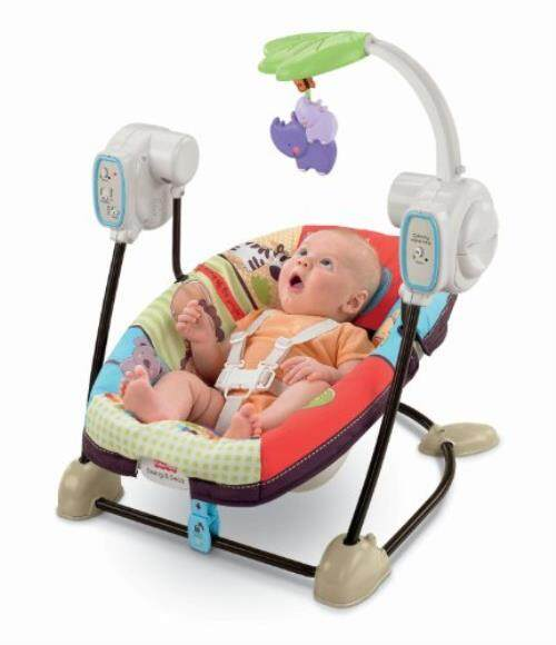 Fisher Price Esaver Swing And Seat Luv U Zoo