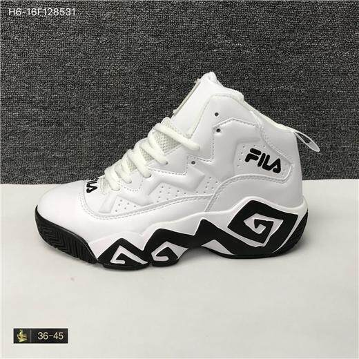 6f54a15fcfb4 Fila Original Classic Jamal Mashburn Black White High Quality Skate Shoes  WOMEN