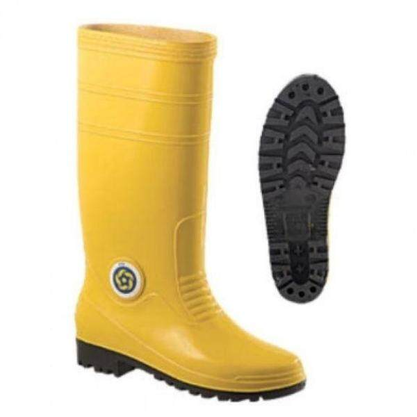 Korakoh Yellow Safety Rubber Boots