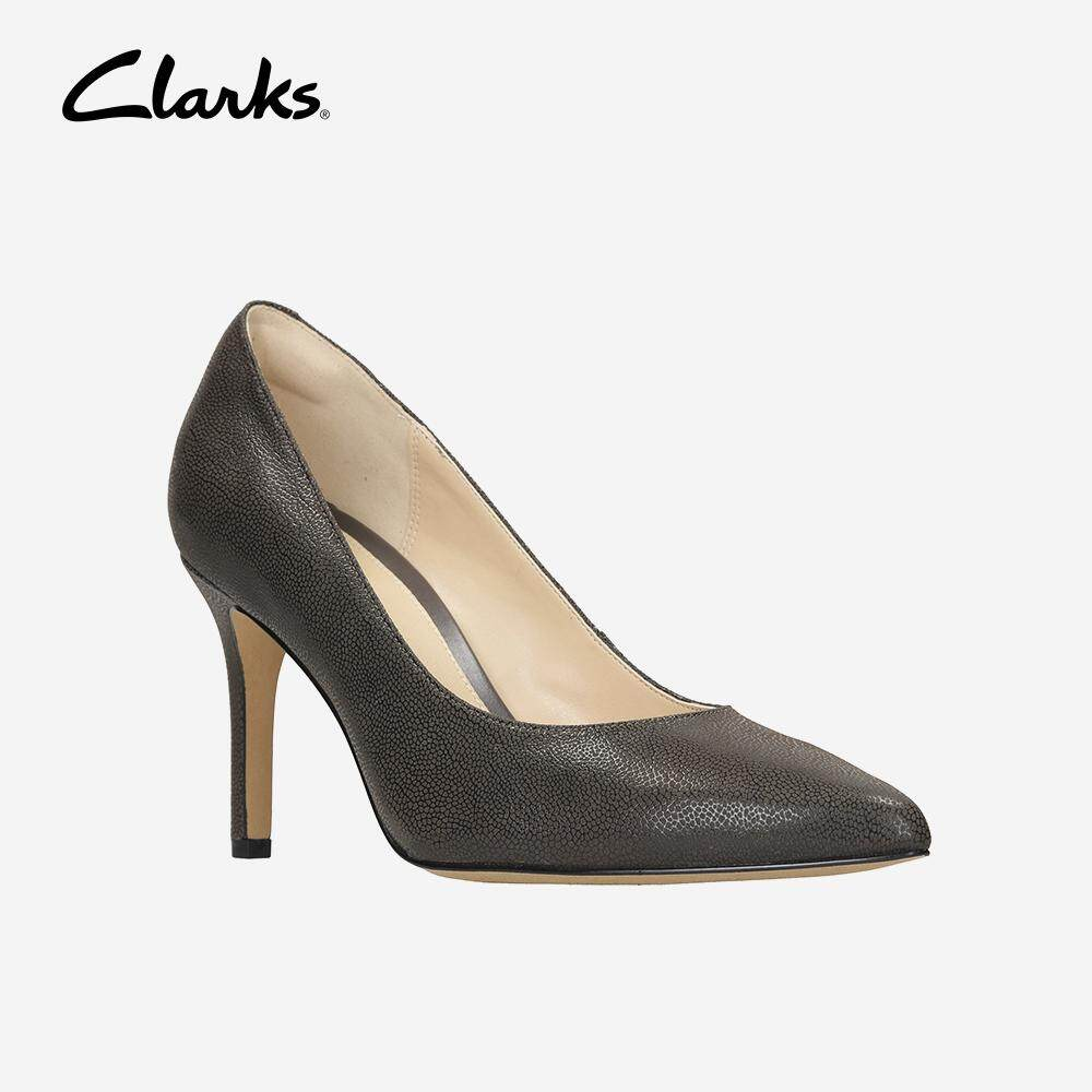 6e0c0a99356e5e Clarks Women s Dinah Keer Taupe Leather Dress Shoes Fashion Comfort Durable  Comfort Durable