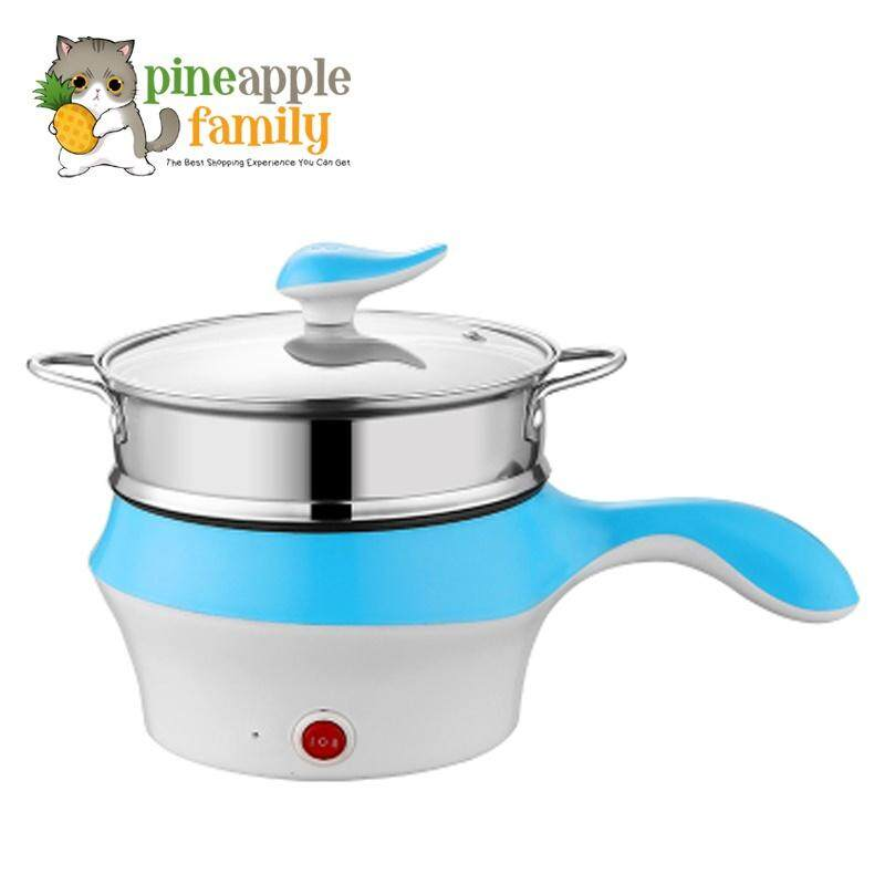 Alvaro Korea Style Multifunction Stainless Steel Electric Cooker Steamer For Tea And Soup By Pineapple Family.