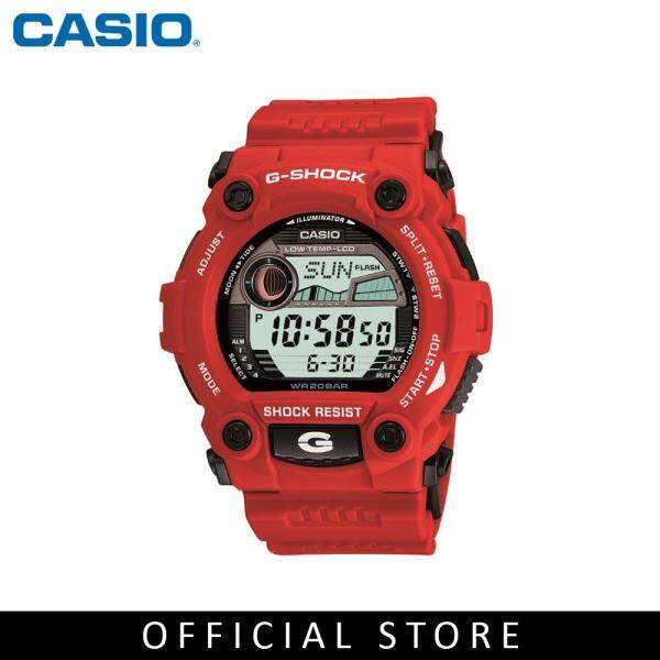 Casio G-Shock G-7900A-4 Red Resin Band Men Sports Watch Malaysia