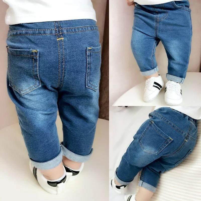 [genius Baby House] Baby Boy Denim Cotton Jeans Pant Gbc Web C1012 By Genius Baby House.
