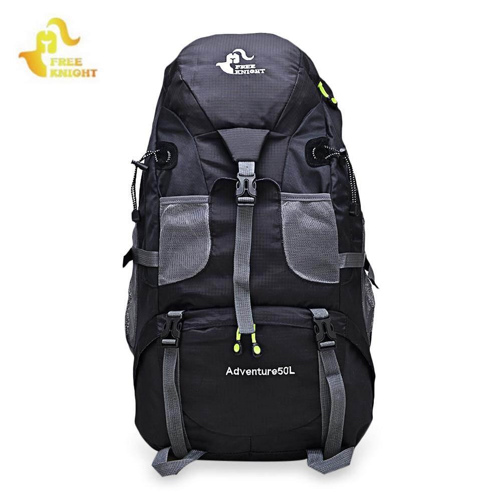 6c1ec69d477 FreeKnight 50L Outdoor Sport Bags Waterproof Nylon Hiking Backpacks  Mountaineering Travel Bag Camping Backpack For Men