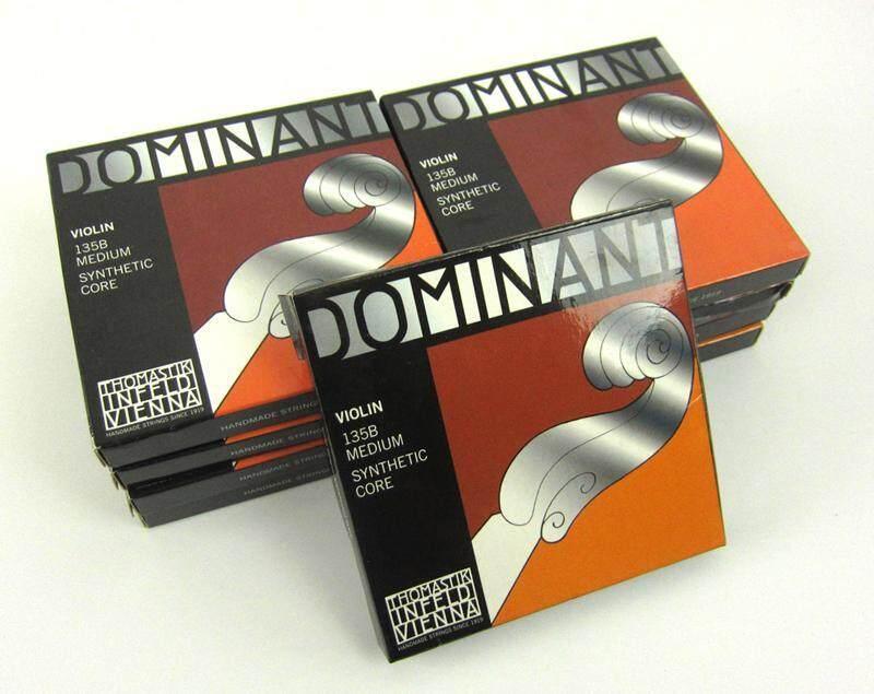 Dominant Violin 135b Medium Synthetic Core , 1 set 4 string Malaysia