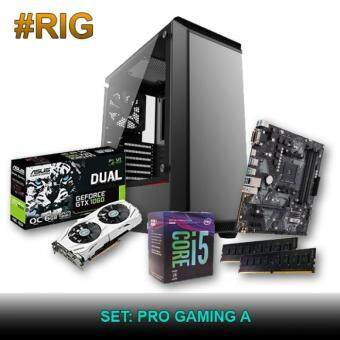Custom Gaming PC -  Intel Pro Gaming A (i5-8400 / 8GB / 120GB SSD + 1TB HDD / GTX 1060)