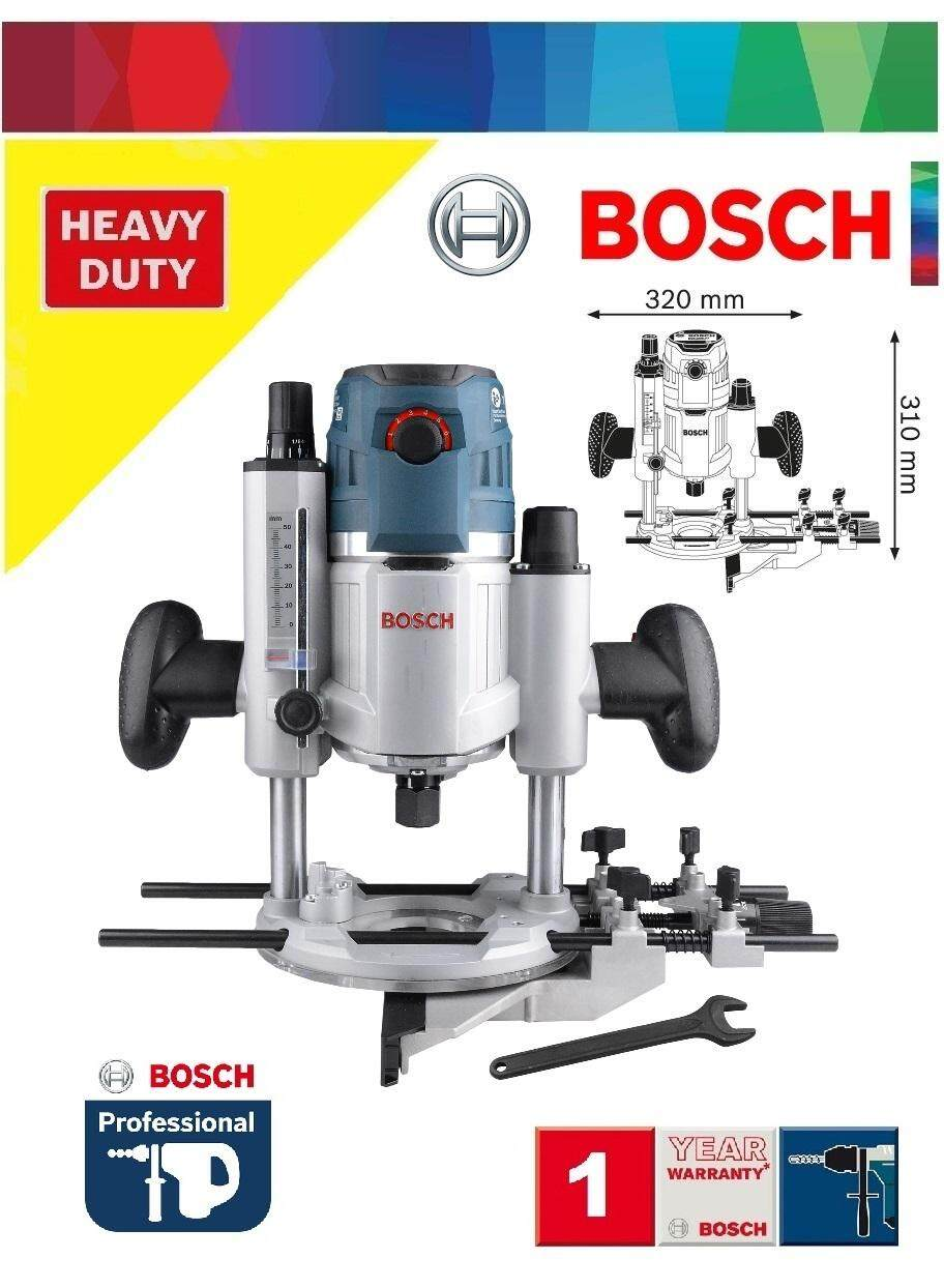 Bosch GOF 1600W Precision Plunge Router c/w Parallel Guide, Plunge Router