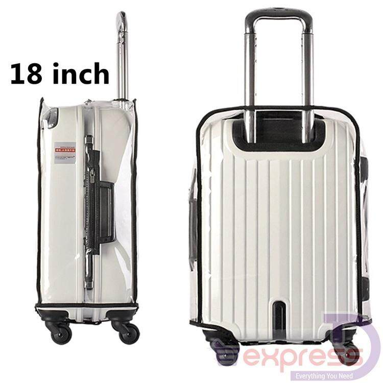 18   24   26   28 inch PVC Transparent Travel Luggage Protector Suitcase  Cover Usable fc1b1d98c6