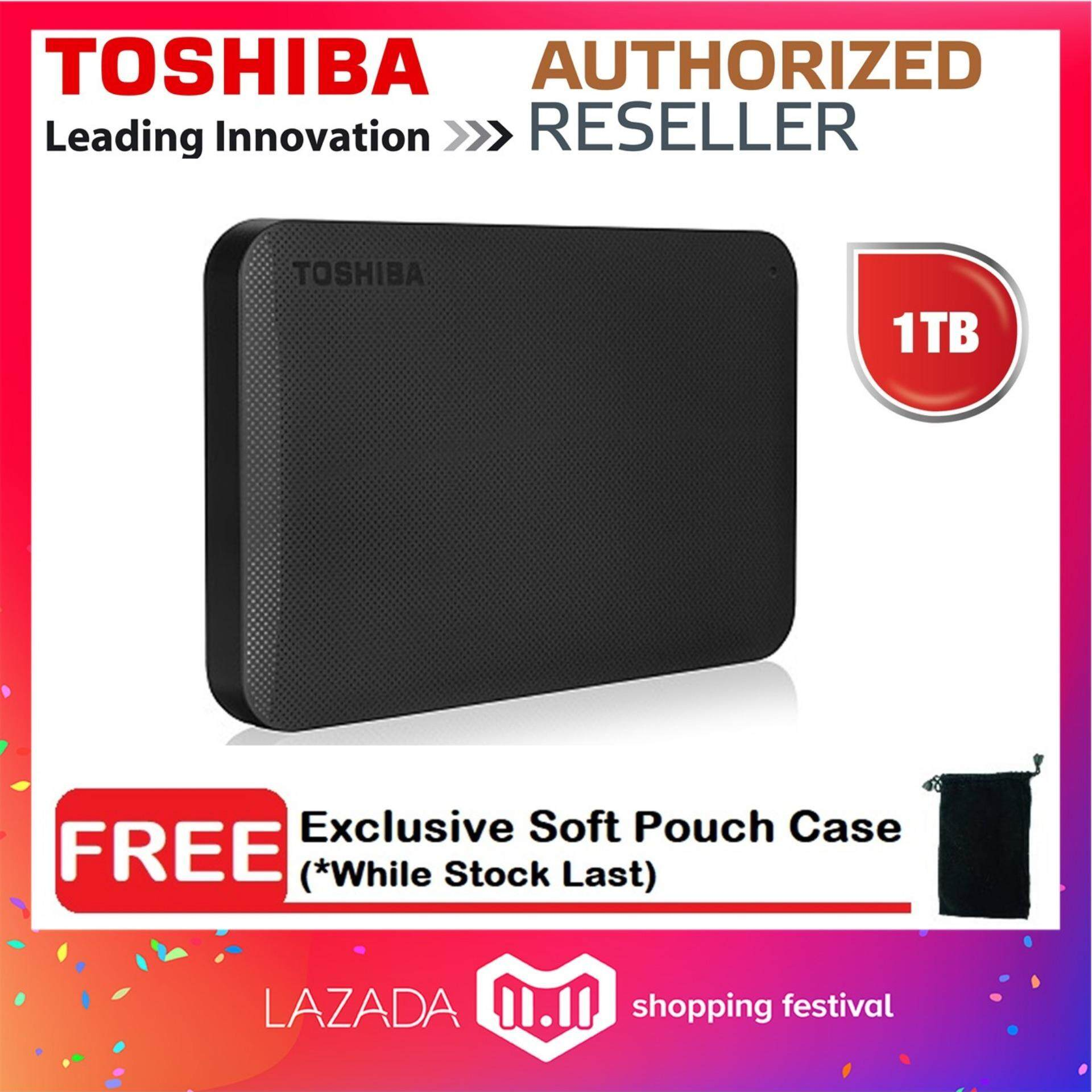 External Hard Drives Disk With Best Price In Malaysia Orico 2588us3 Hdd Harddisk Enclosure 25 Inch Portable Super Speed Usb 30 Toshiba Canvio Ready Basics 1tb Drive Free Soft Pouch