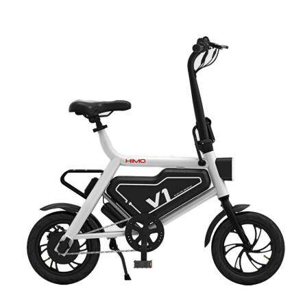 Xiaomi Himo V1 Portable Folding Electric Moped Bicycle Ergonomic Design Multi-Mode Riding By Tradeshoppe.