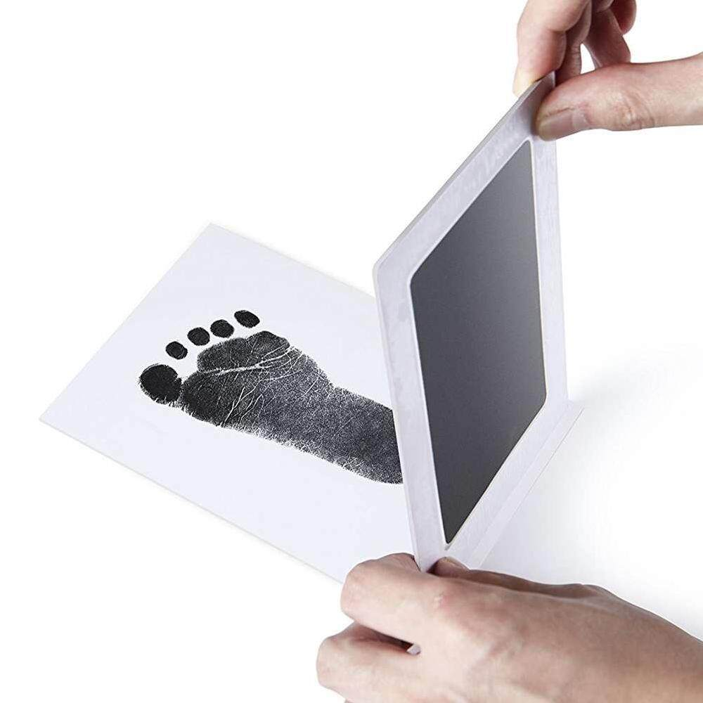 Extra Large Baby Safe Inkless Touch Handprint And Footprint Stamp Pads By Suke.