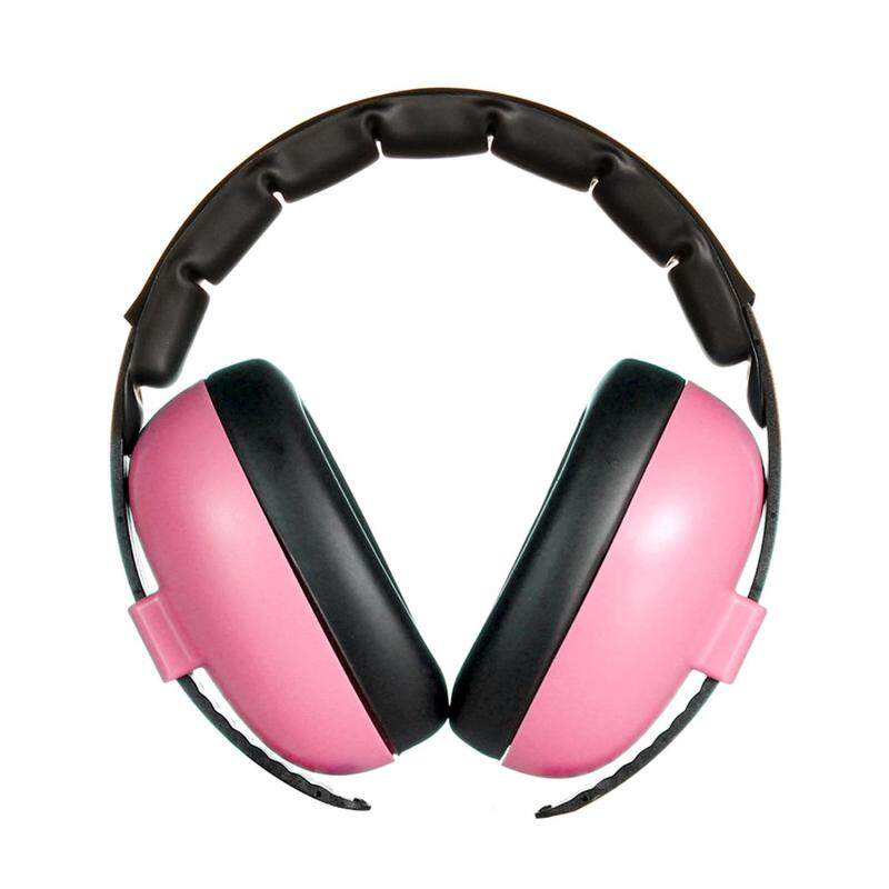 Safety Baby Ear Hearing Protection Noise Cancelling HeadPhones Ear Muffs Defenders Headset for Newborn Infants Adults Sleeping Studying Airplane Pink
