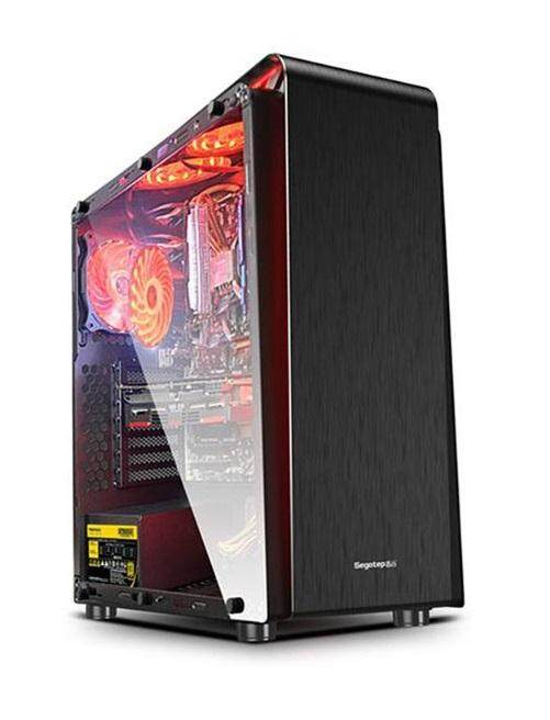SEGOTEP RAYNOR TOWER T3 TEMPERED GLASS WITH 1 RGB FANS/RGB STRIP Malaysia
