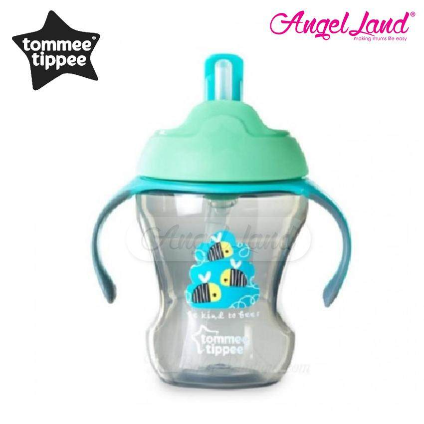 Tommee Tippee Training Straw Cup 230ML (9M+) 447016/38 -Green Bee ...