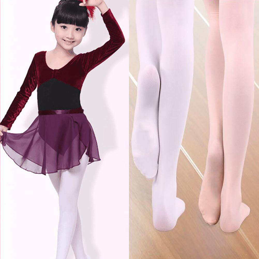 Hot Girls Velvet Dance Sock Ballerina Tights Pantyhose Professional Ballet Stocking - Pink By Hittime.