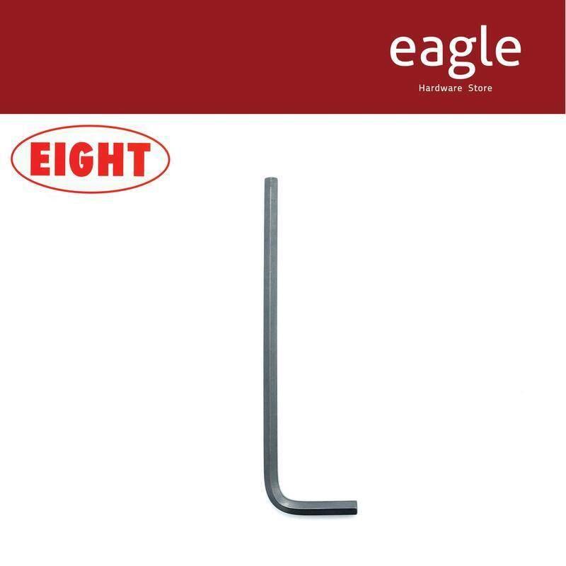 Eight 008-5/32 Black Long Length Hex Key Wrench