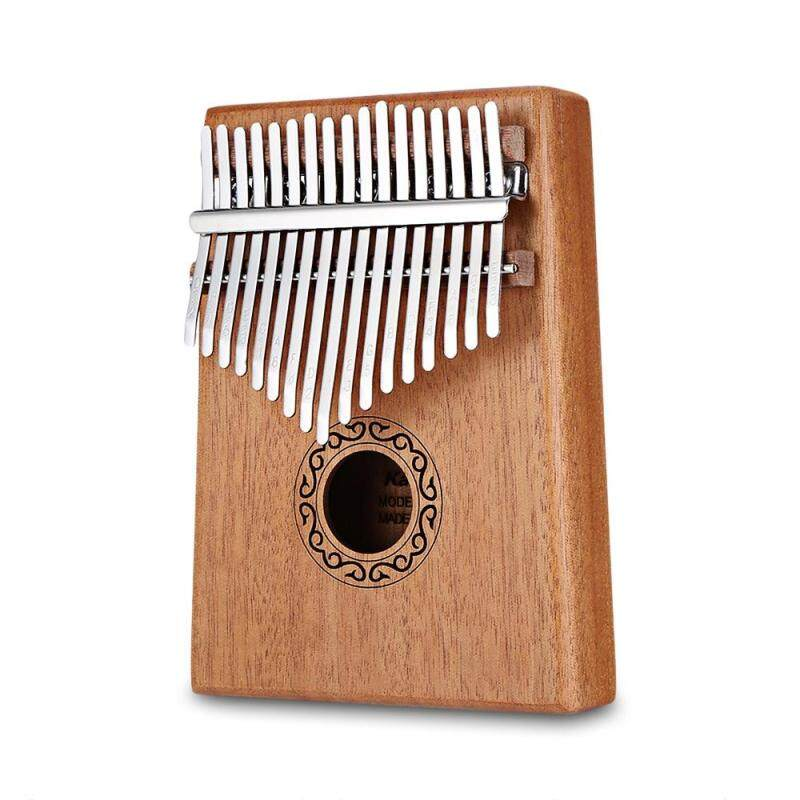B - 17T 17 Keys Kalimba Thumb Piano High-Quality Wood Mahogany Body Musical Instrument With Learning Book Tune Hammer Malaysia