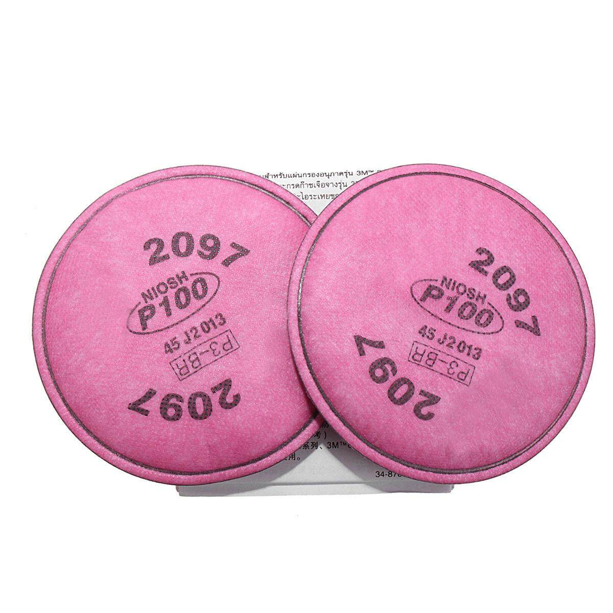 20cs P100 Cotton Particulate Efficient Filter For 6000/7000 Respirator