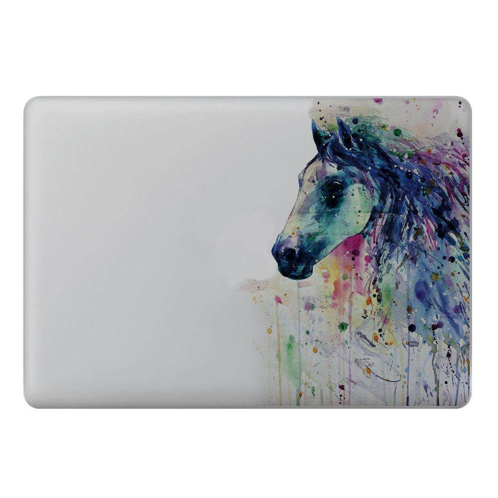 Free Shipping Fantasy Horse Ink Style Vinyl Decal Laptop Sticker For Apple Macbook Pro Air 11 Inch By Benefitwen.