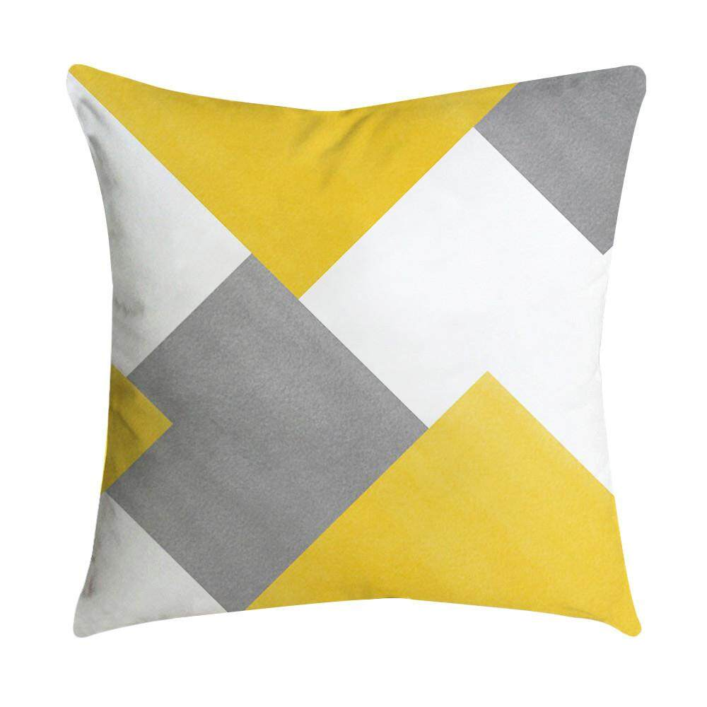 Myanswer Pineapple Leaf Yellow Pillow Case Sofa Car Waist Throw Cushion Cover Home Decor Free Shipping By Myanswer.