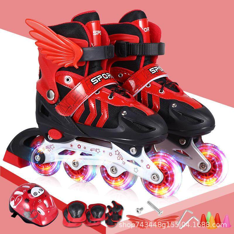Children s skates suit size can be adjusted by the flash suit of roller  skates ... 4c58961946
