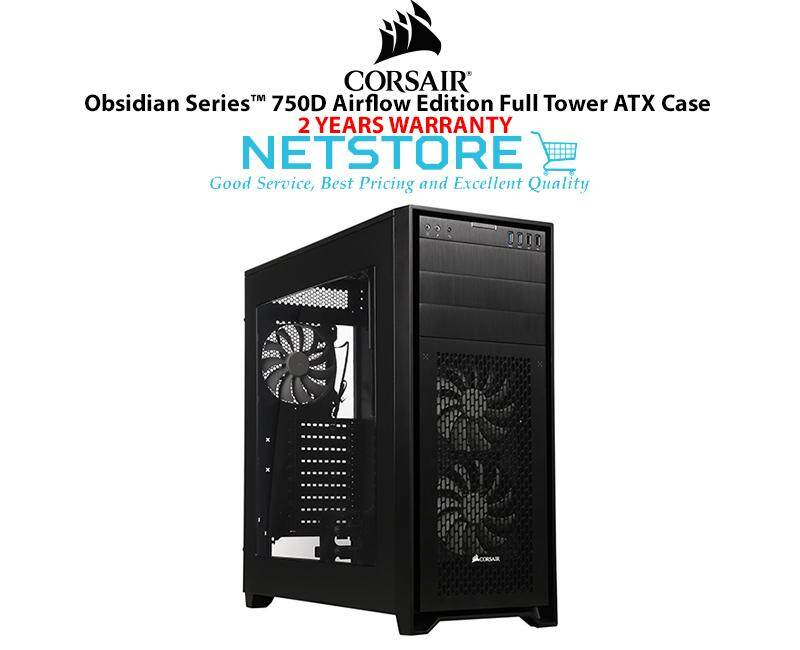 Corsair Obsidian Series 750D Airflow Edition Full Tower ATX PC Desktop Case CC-9011078-WW Malaysia