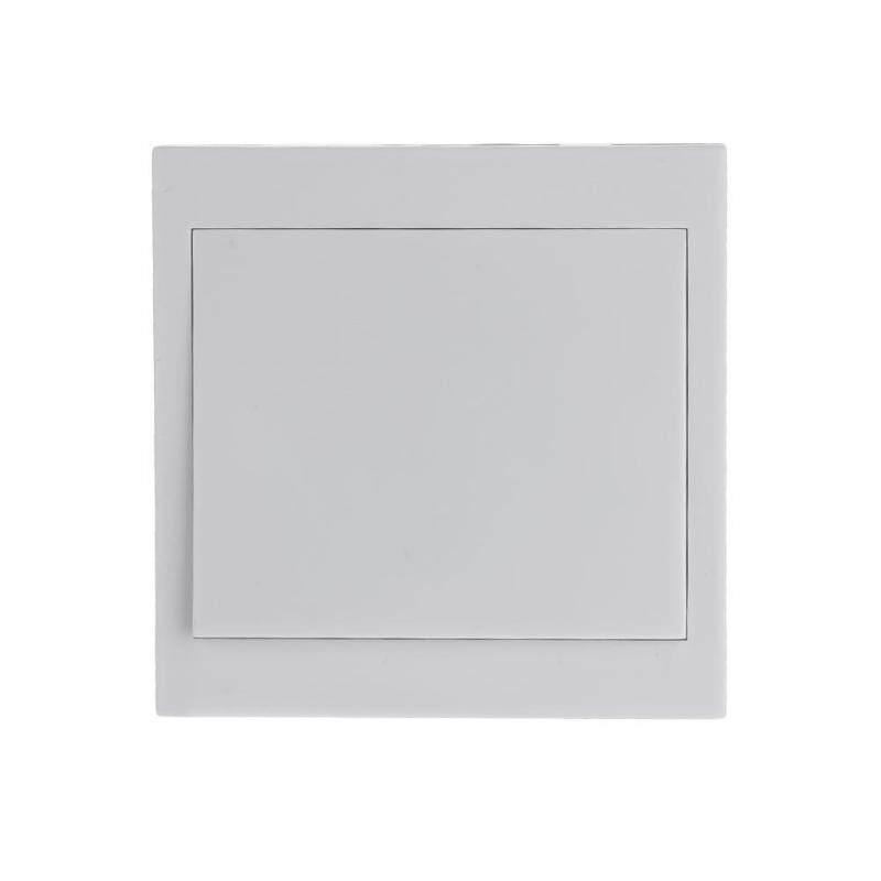 433MHz 86 Wireless Sticky Wall Panel Remote Control Switch Transmitter(White)-1 Key