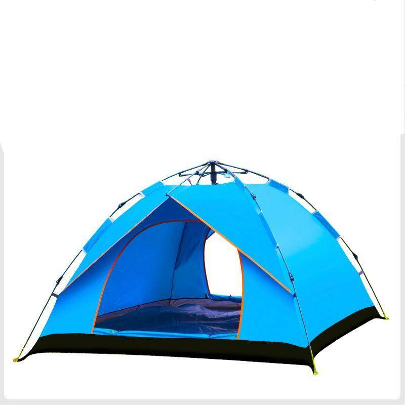 45ef49643346 3-4 Person Camping Hydraulic Automatic Camping Tent Outdoor Tent- Pop Up Tent  For