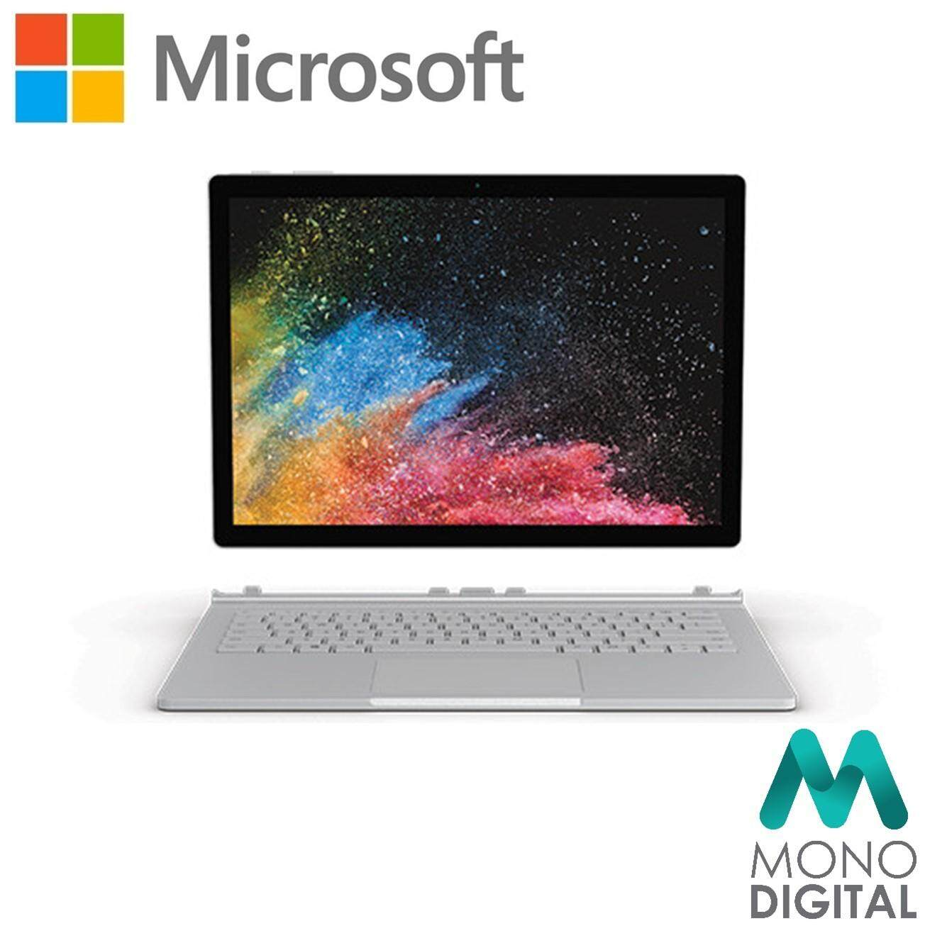 Microsoft Surface Book 2 13 Core i7 / 512GB GTX1050 2GD5 / 16GB RAM Window 10 Pro Malaysia