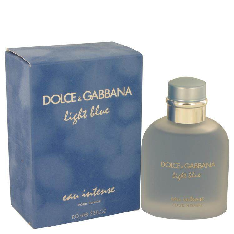 ORIGINAL Light Blue Eau Intense Pour Homme By Dolce & Gabbana 100ml EDP