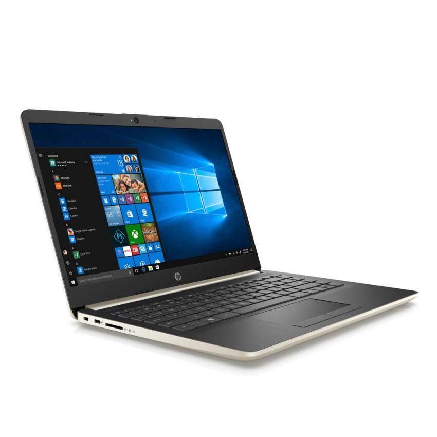HP 14s-cf0059TX Notebook (i5-8250U/4GB DDR4/256GB SSD/AMD Radeon 530 2GB/14 FHD/Win 10/Gold) + Free HP Backpack Malaysia