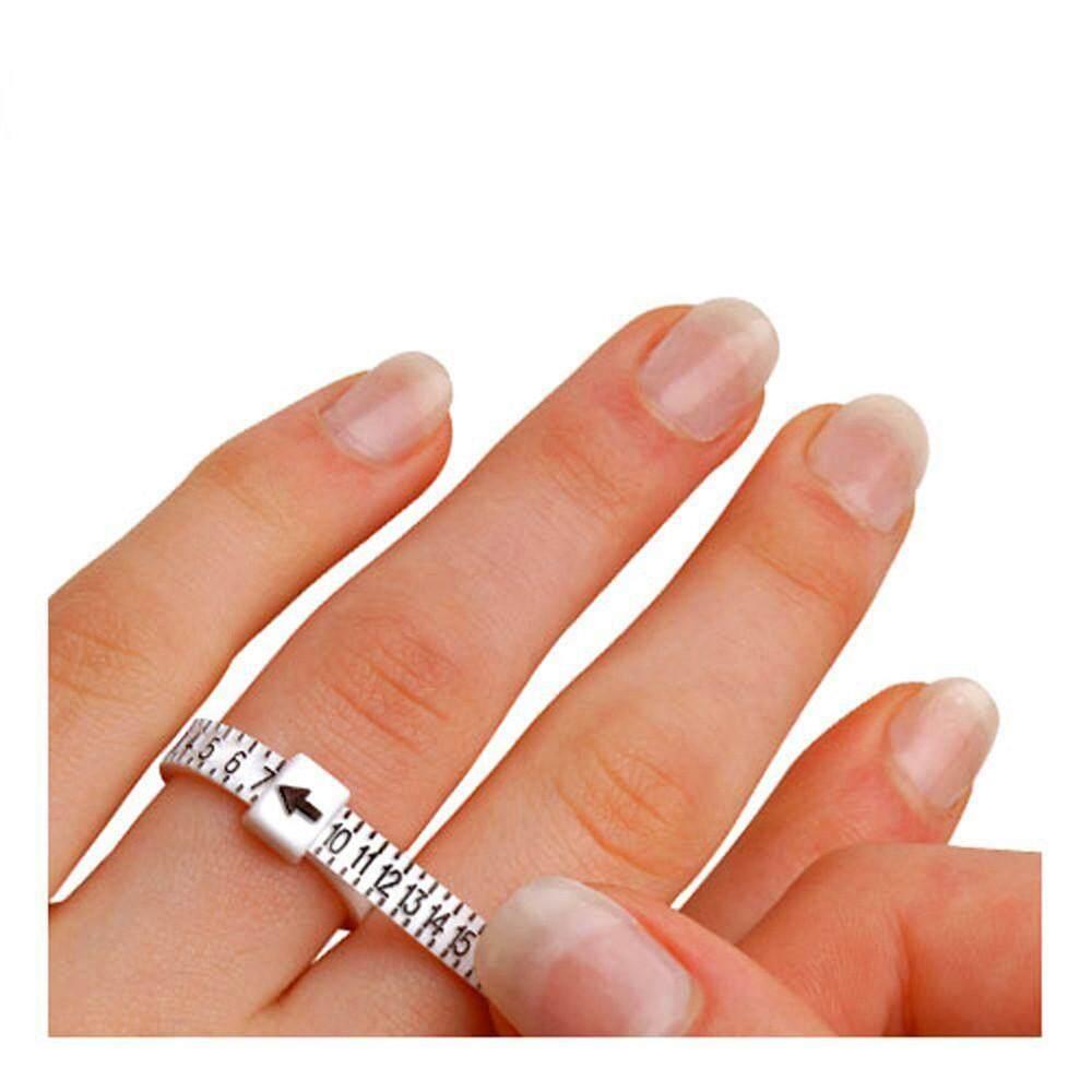 MyositisHome 1-17 USA Sizes Economical Ring Sizer Gauge Finger Stick Mandrel Measurement