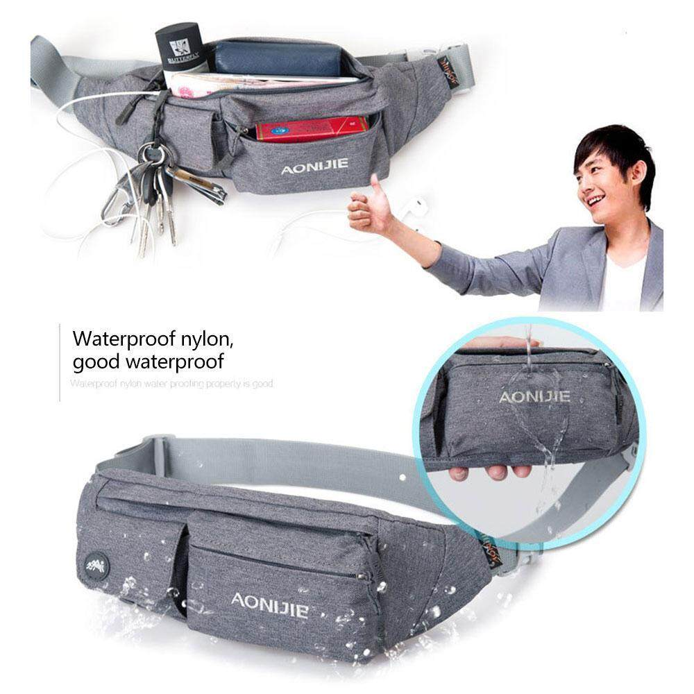 Niceeshop High Quality Hiking Climbing Jogging Waterproof Multi-Functional Sports Belt Camera Phone Bag Waist Bag By Nicee Shop.