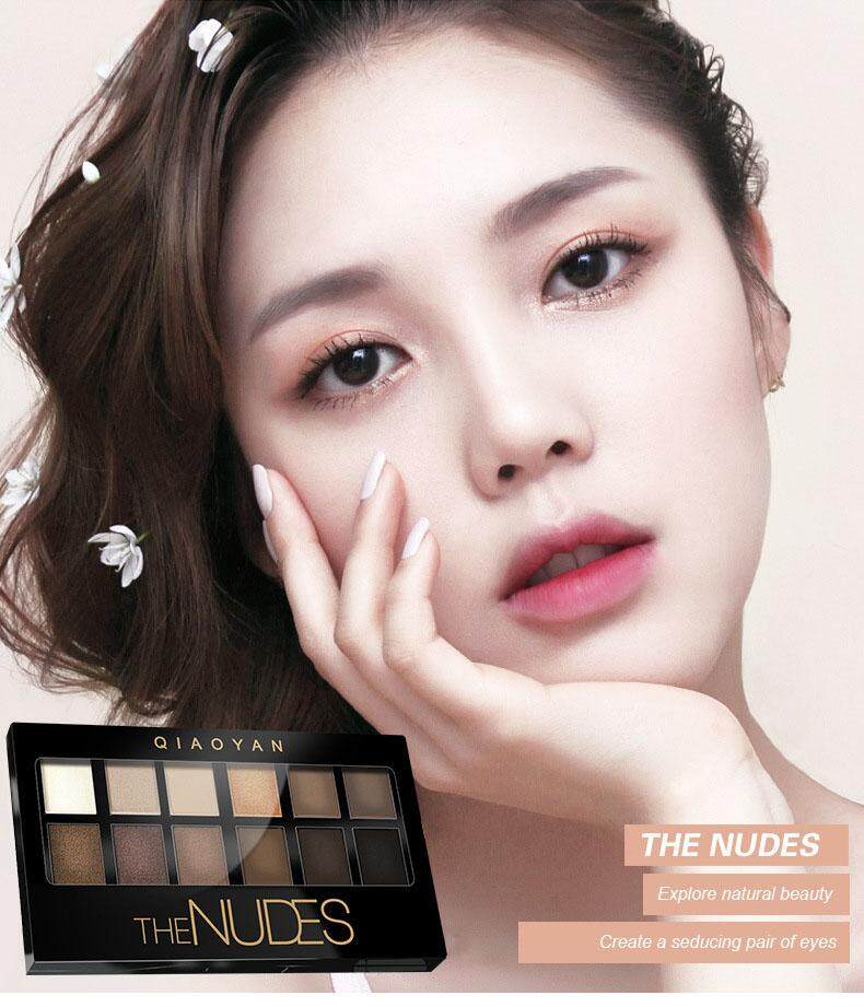G9 Nudes By Qiao Yan Pallette Eyeshadow By G9.
